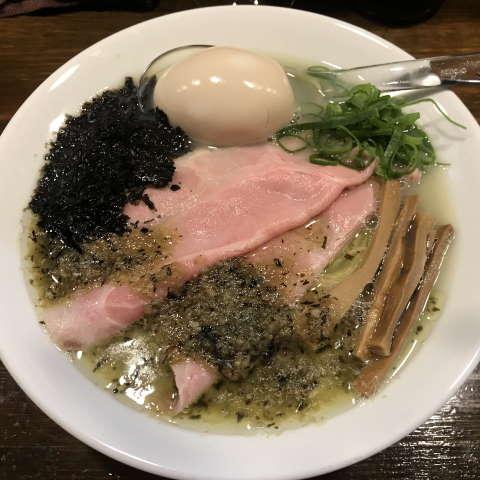 スープメン牡蠣塩ラーメン