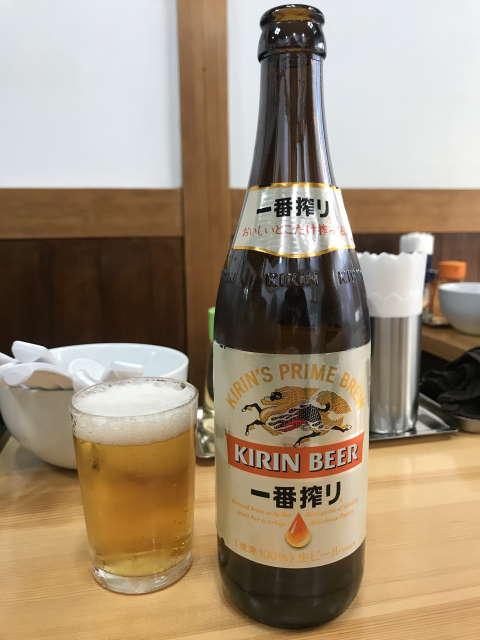 中華そばこてつビール