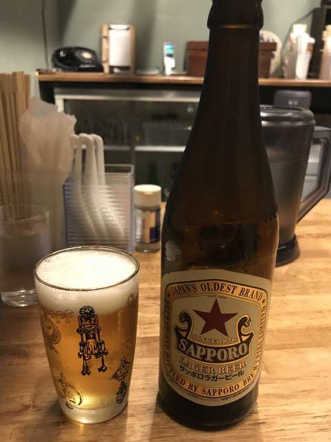 西荻燈サッポロラガービール
