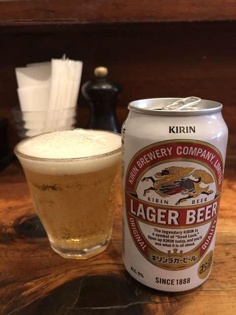 中華そばしば田ラガービール