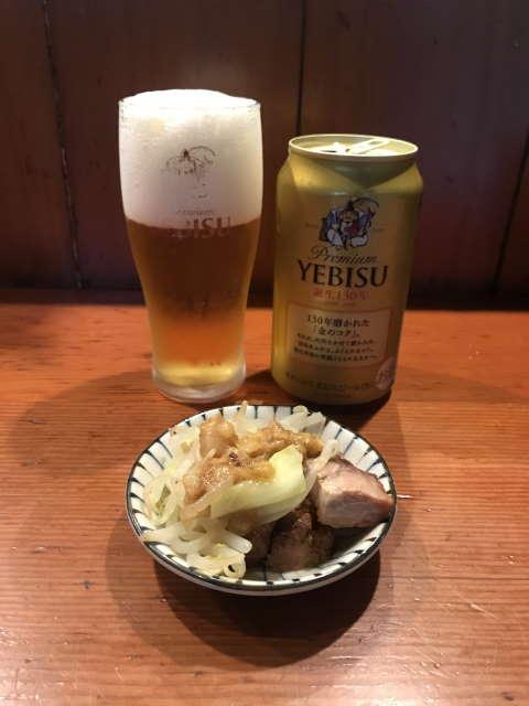 麺処ほん田エビスビール
