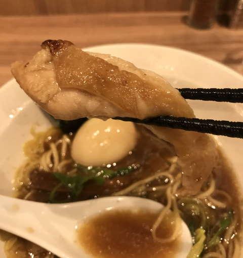 麺処ほん田秋葉原本店鶏チャーシュー