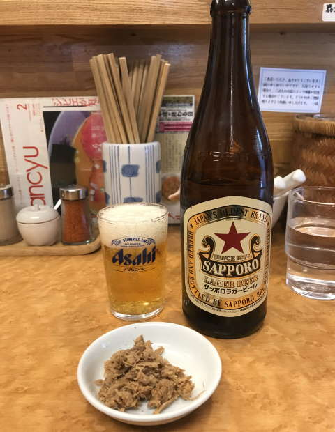 一福瓶ビール赤星