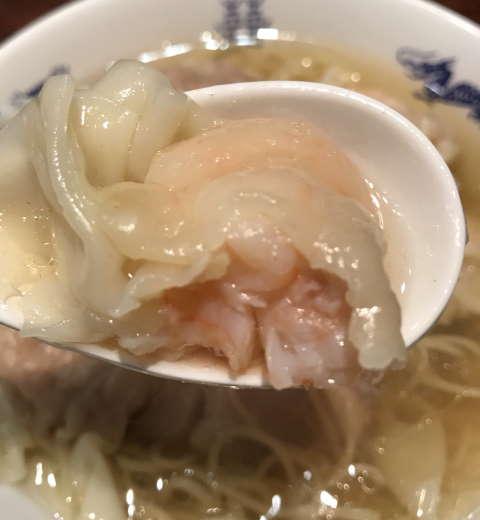 中華蕎麦にし乃海老ワンタン