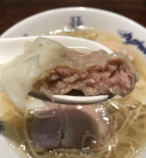 中華蕎麦にし乃肉ワンタン