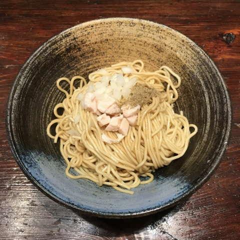 中華蕎麦にし乃味付き替玉