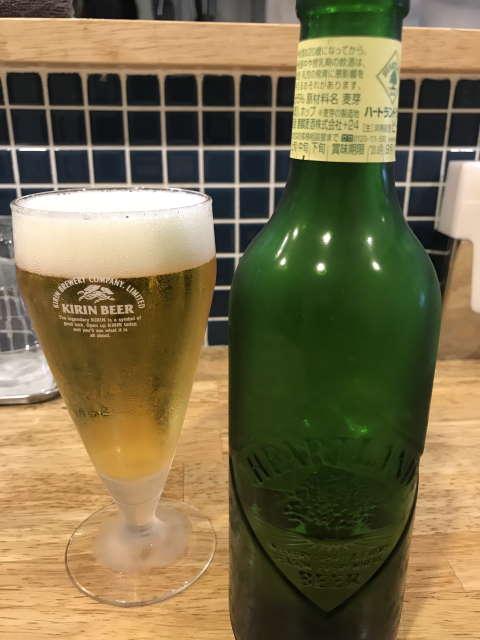 ののくら小瓶ビールハートランド