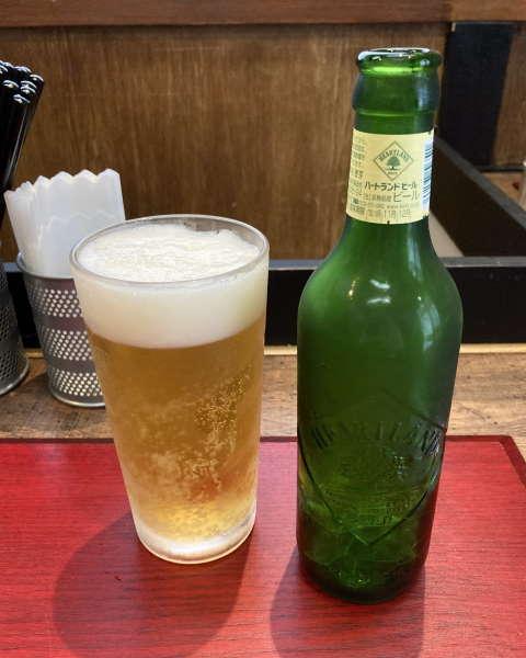 神保町黒須ハートランドビール