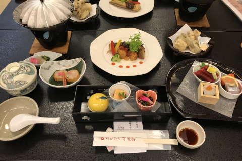 万葉荘懐石料理