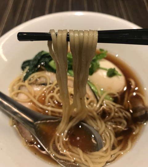 中華蕎麦三藤麺上げ