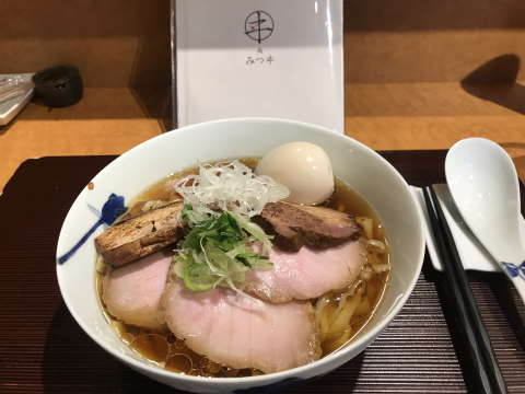 麺みつヰ醤油味玉チャーシュー