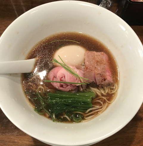 創作麺工房鳴龍我流醤油拉麺