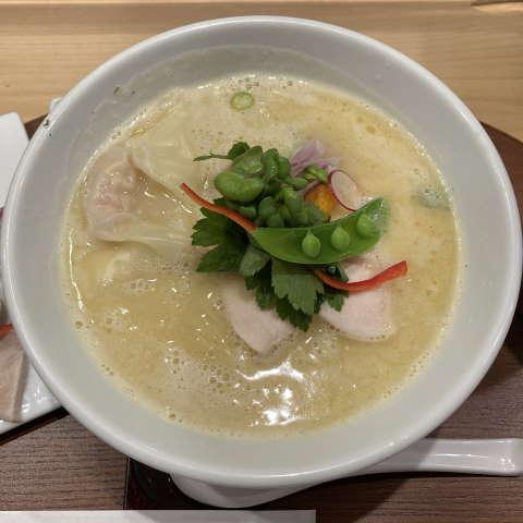 銀座篝特製鶏白湯Soba