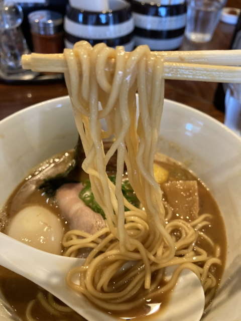RAMEN_GOTTSU麺上げ
