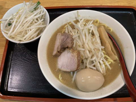 味噌麺処花道味噌ラーメン野菜中盛