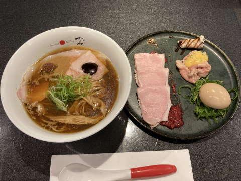 JapaneseSobaNoodles蔦特製醤油Soba