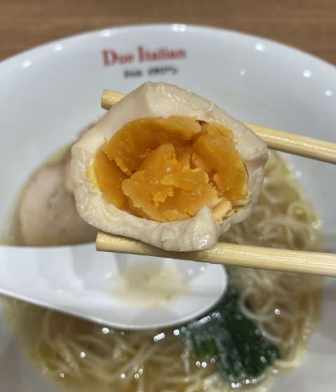 ドゥエイタリアン味玉