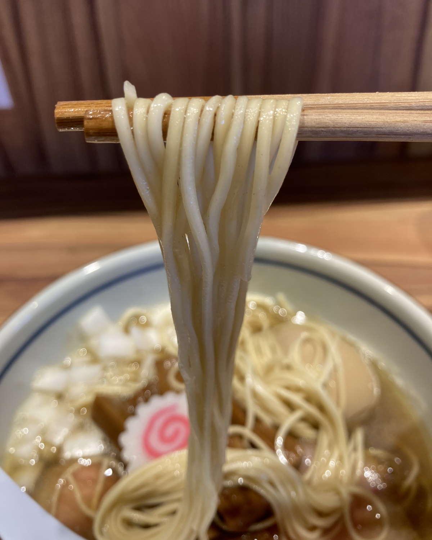 中華そば堀川麺上げ