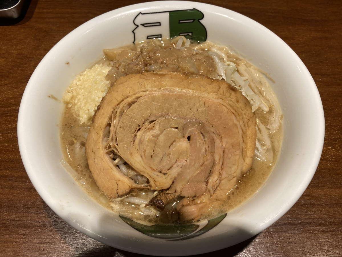 雷東京本丸店雷そばミニ