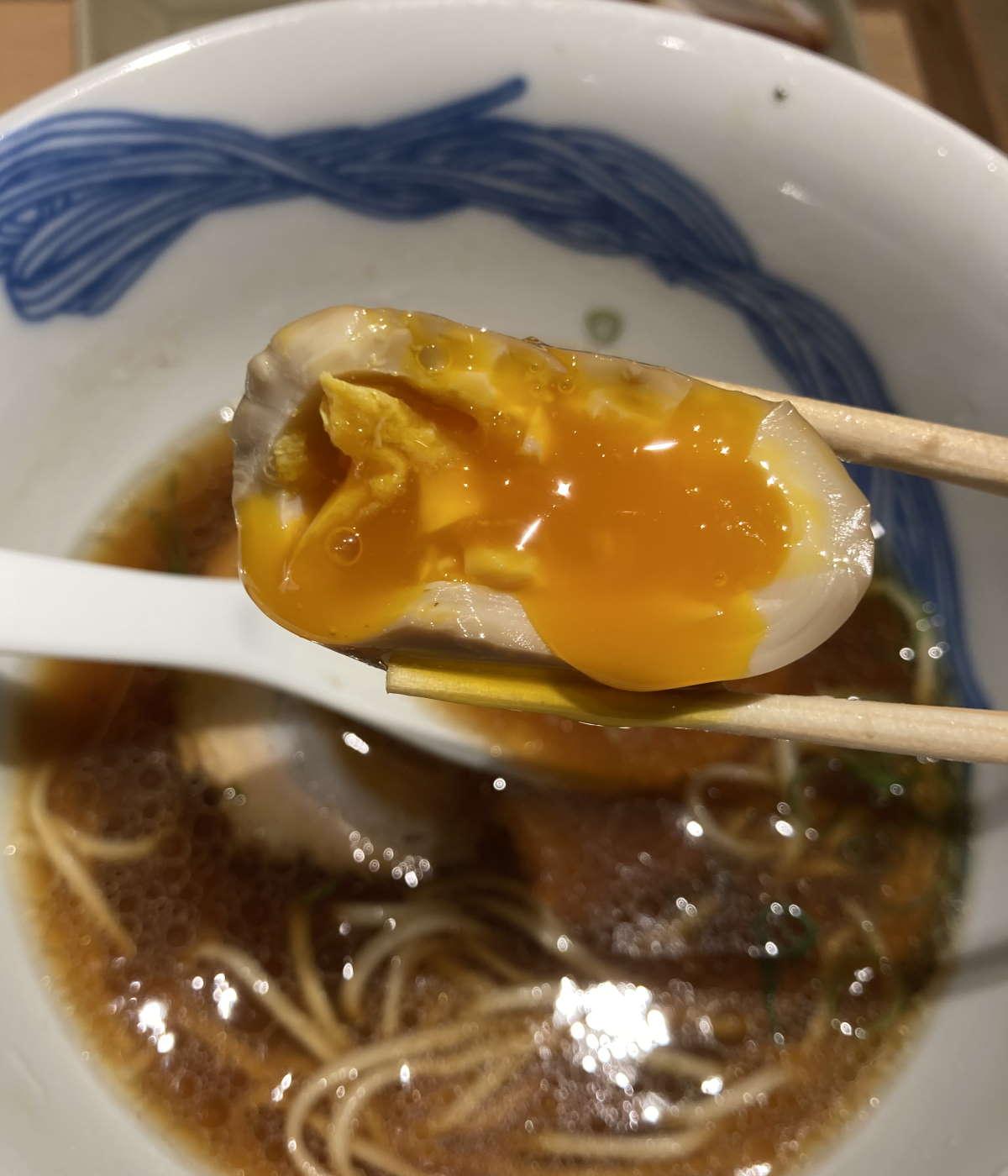 ニッポンラーメン凛トウキョウ味玉
