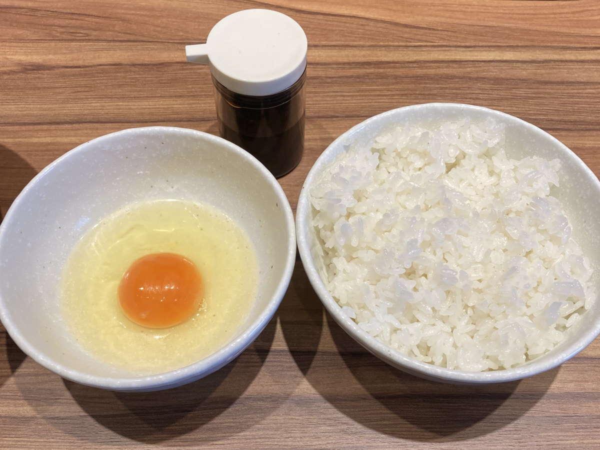 中華そば堀川卵かけごはん