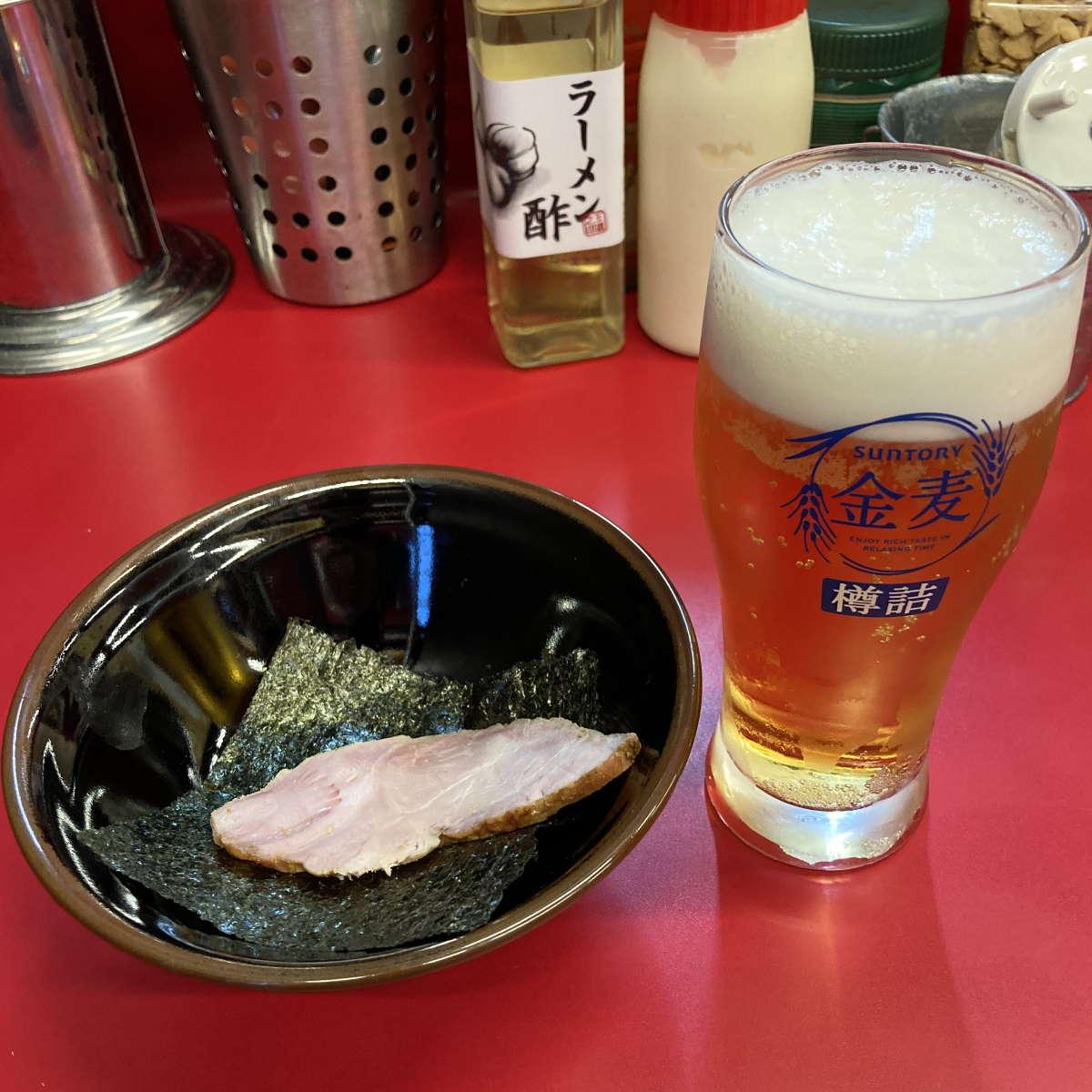 柏王道家ビール