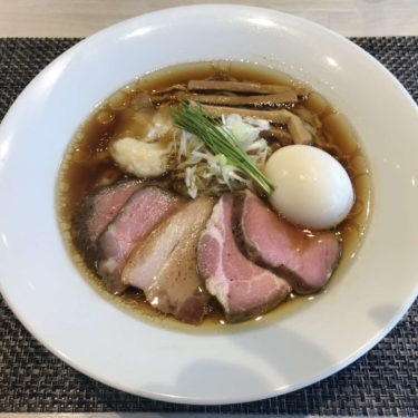 宍道湖しじみ中華蕎麦琥珀特製中華蕎麦