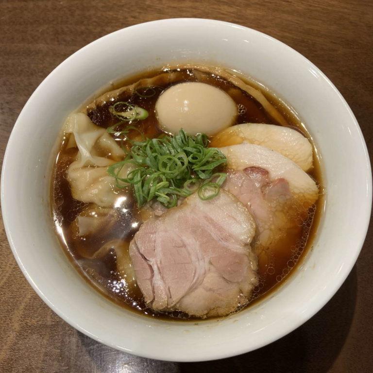 らぁ麺すぎ本醤油特製らぁ麺