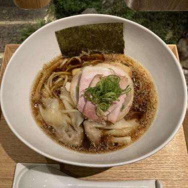 Japanese Ramen Noodle Lab Q煮干し醤油チャーシューわんたん麺