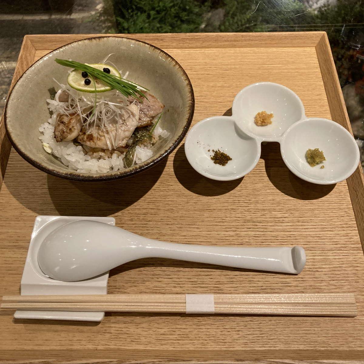 Japanese Ramen Noodle Lab Q天草大王の炭焼き飯