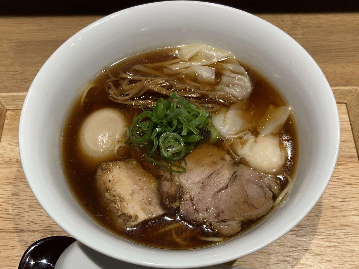 らぁ麺や嶋醬油らぁ麺TPD