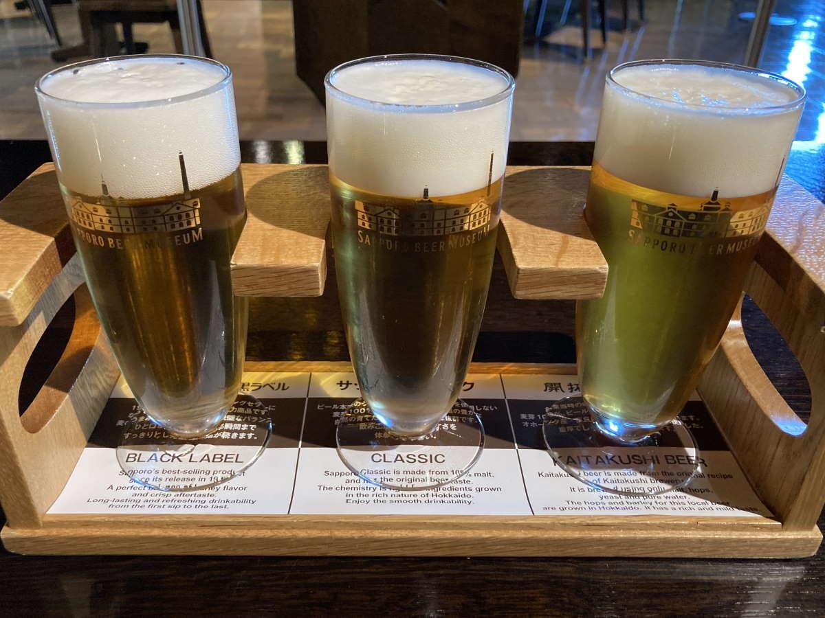 サッポロビール博物館ビール