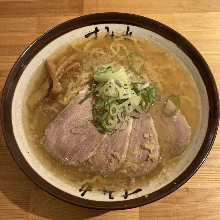 すみれ味噌チャーシューメン
