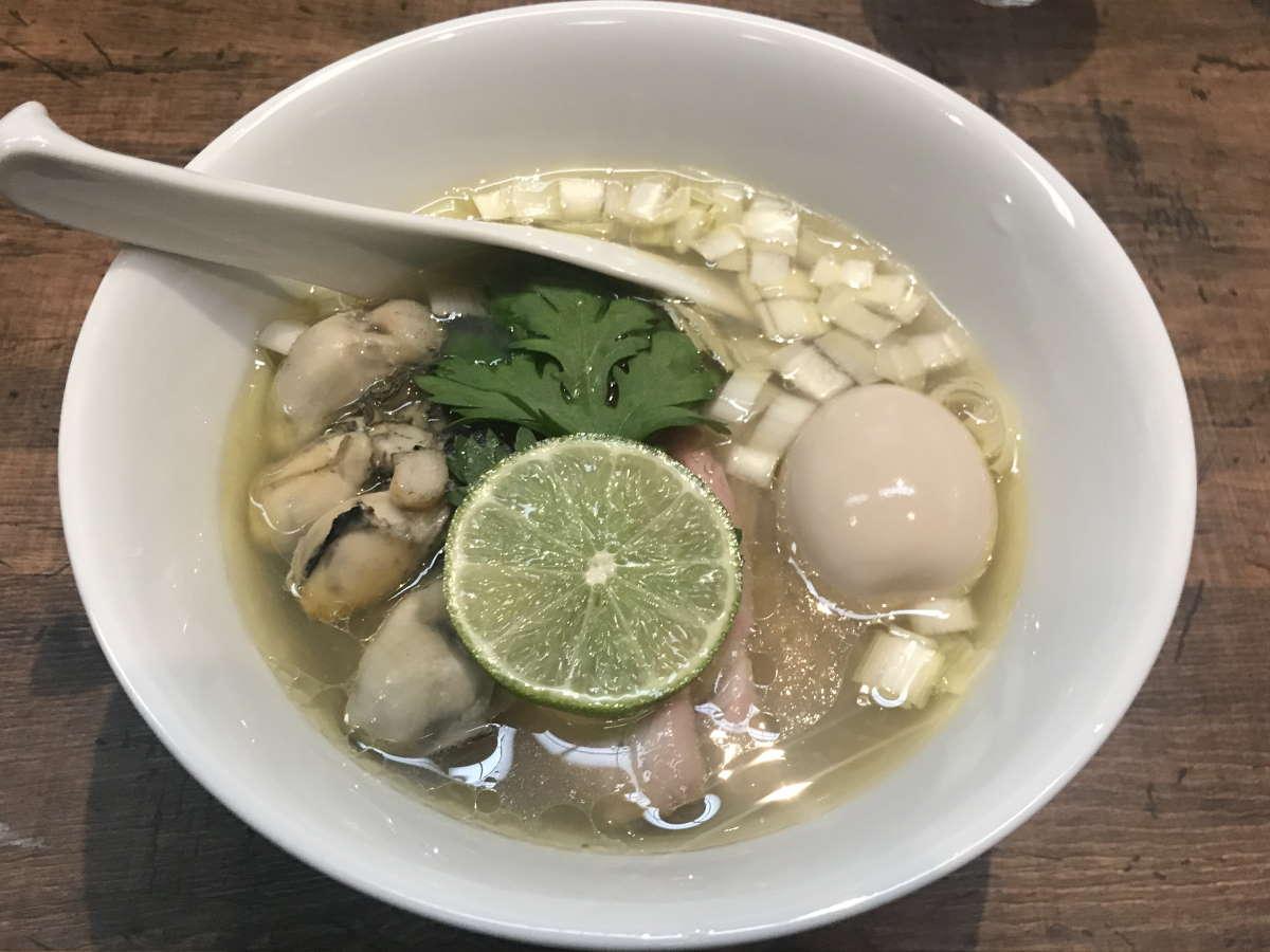 神保町黒須牡蠣の塩蕎麦