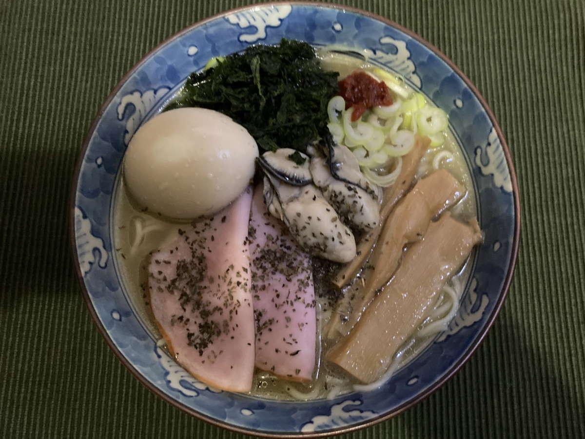 Soupmen牡蠣塩らぁ麺