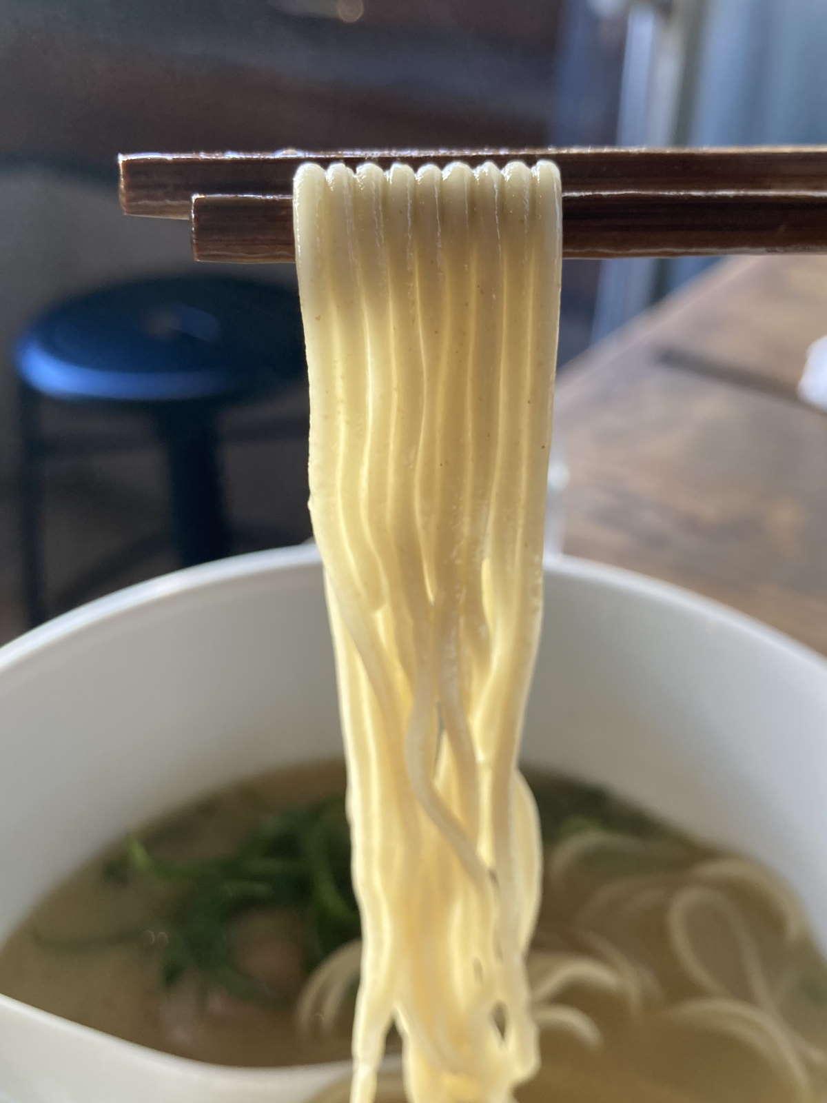 麺処図鑑麺上げ