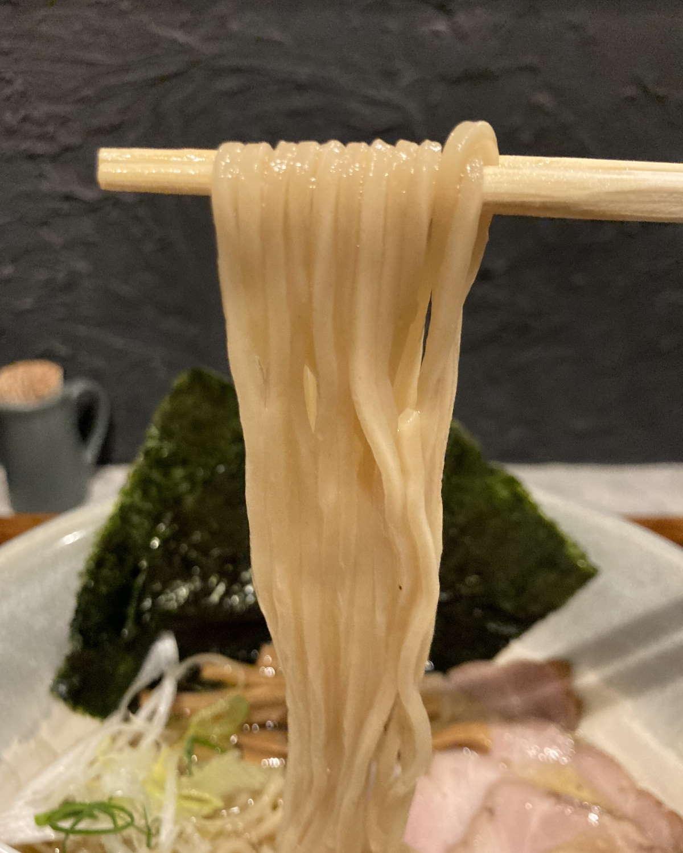 Homemade_Ramen_青麦麺上げ