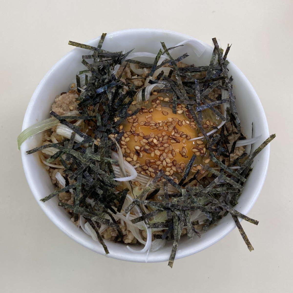 中華そばふくみみ辛味ご飯