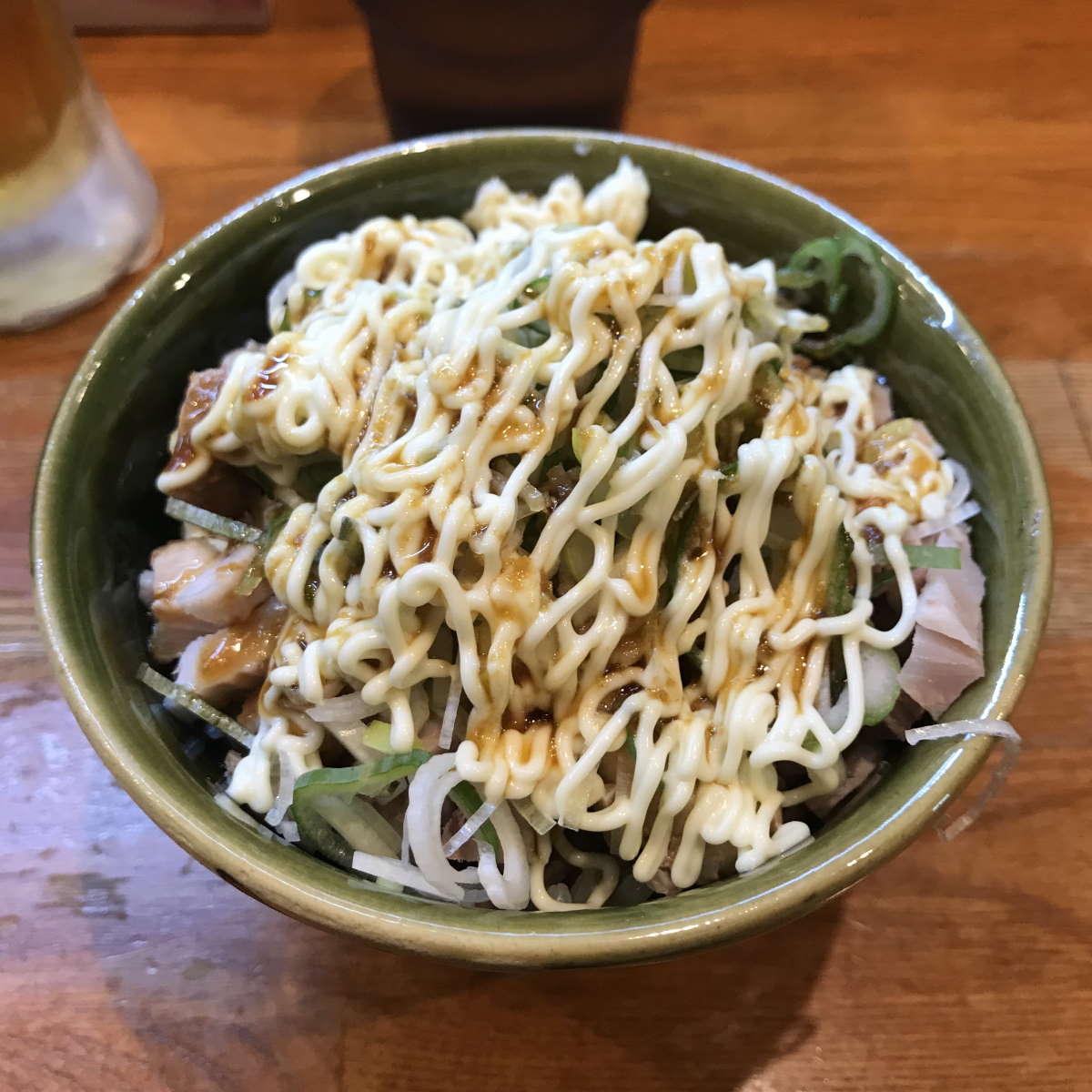 ラーメン末廣家窯焼きチャーシュー飯