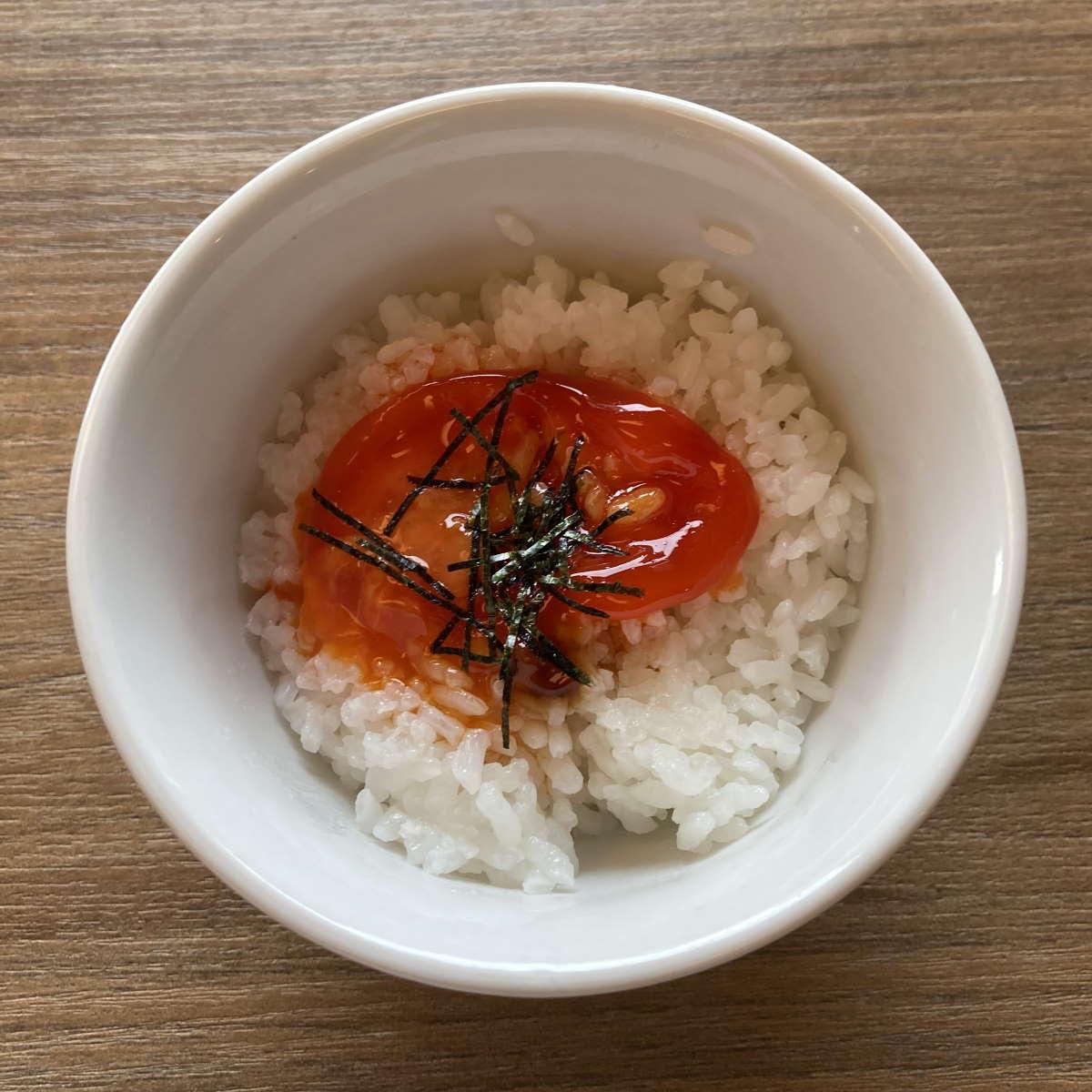 中華そば和渦TOKYO漬け卵黄丼