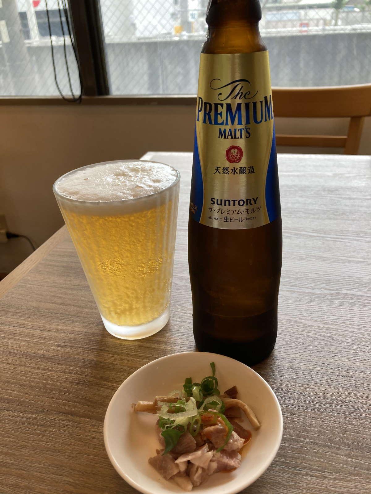 中華そば和渦TOKYOビール