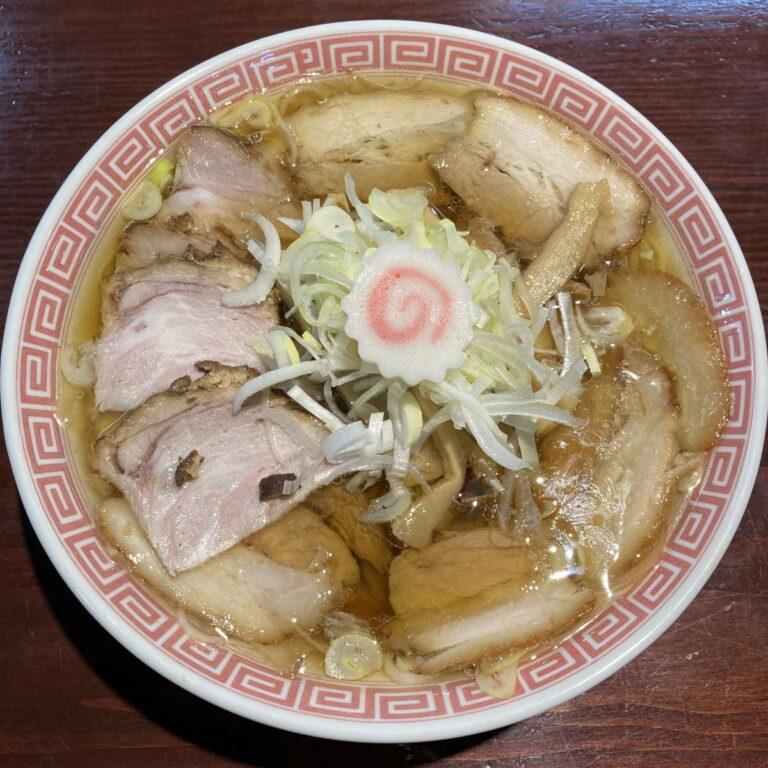中華そばえもとチャーシュー麺