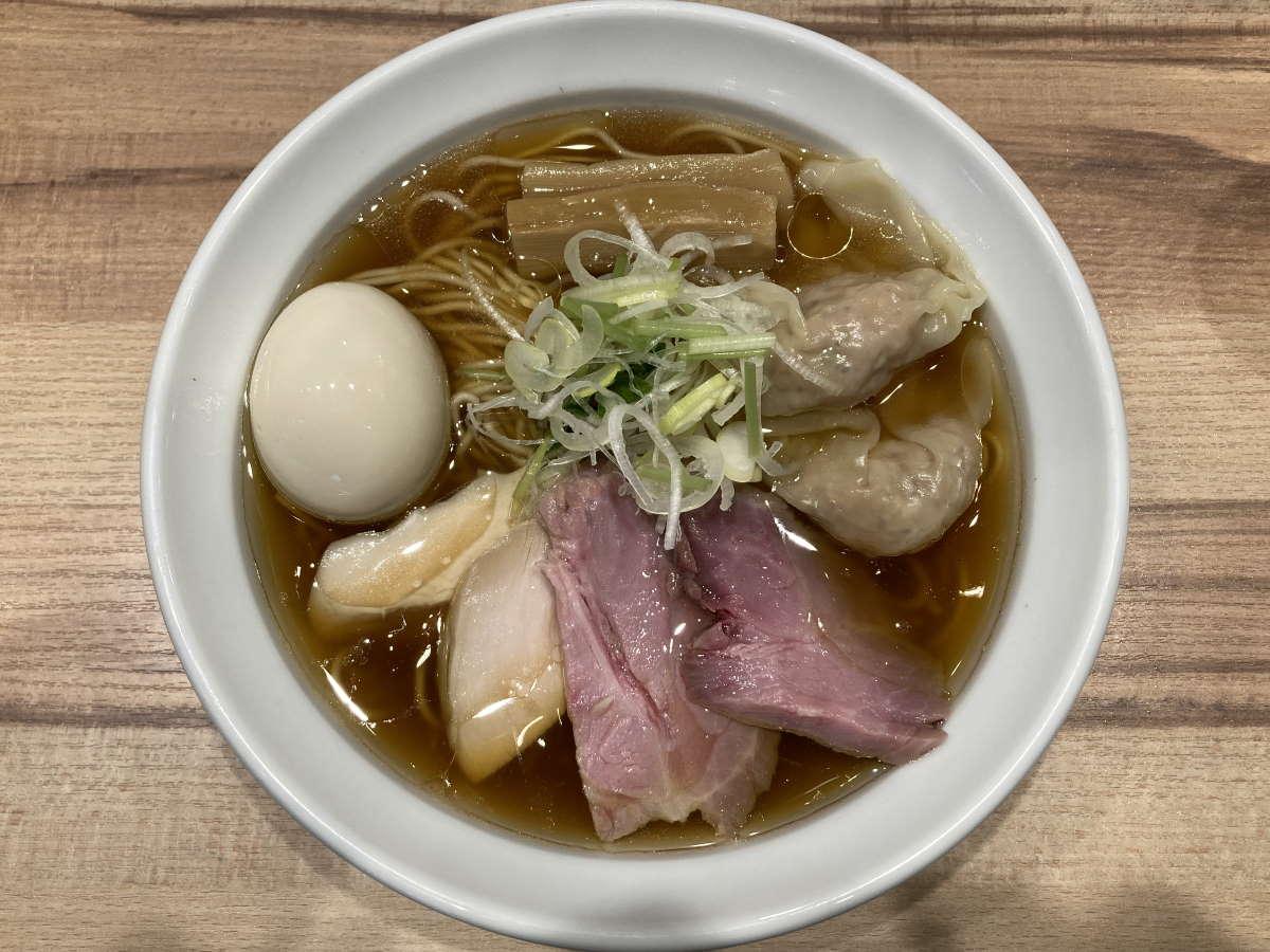 麺屋彩音特製醤油