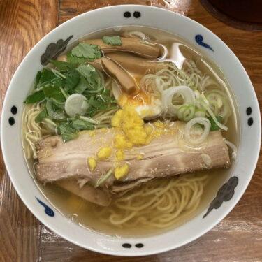 麺屋ひょっとこ和風柚子柳麺