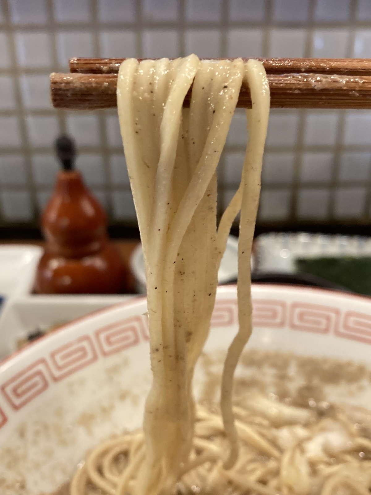 倫道麺上げ