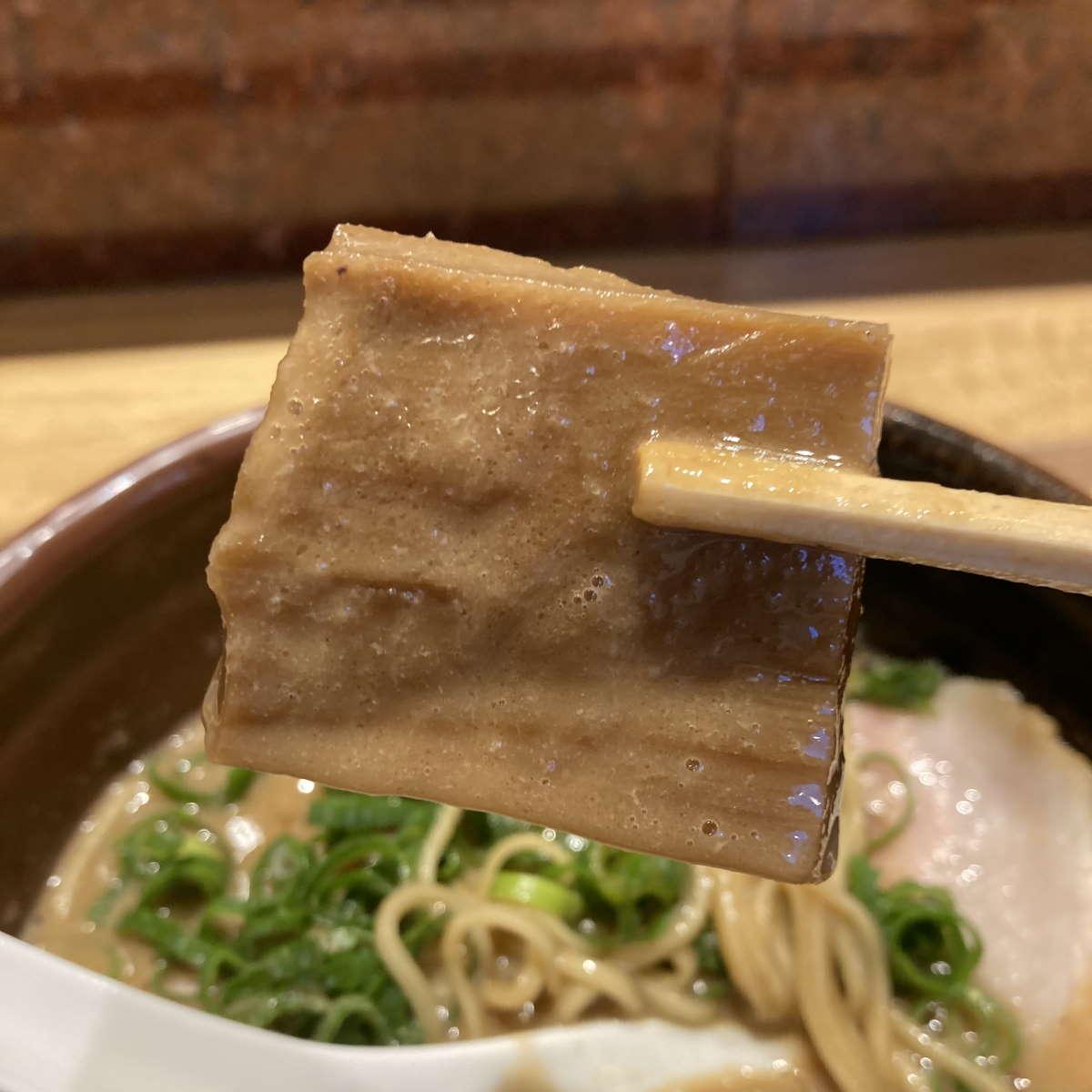 中華蕎麦とみ田極太メンマ