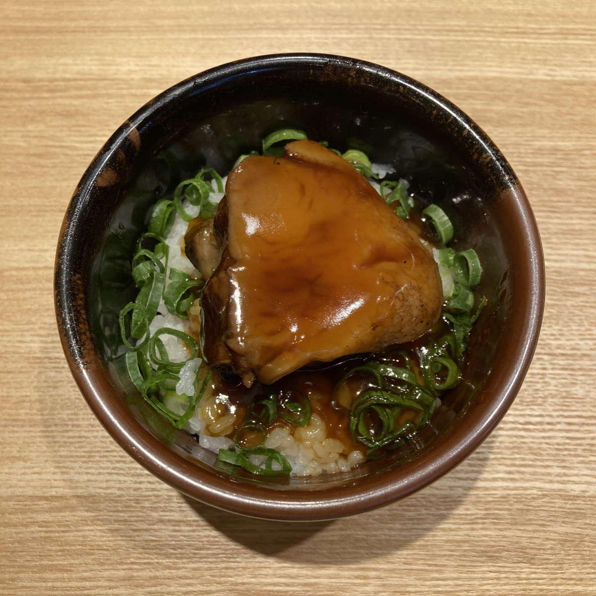 中華蕎麦とみ田角煮トロめし