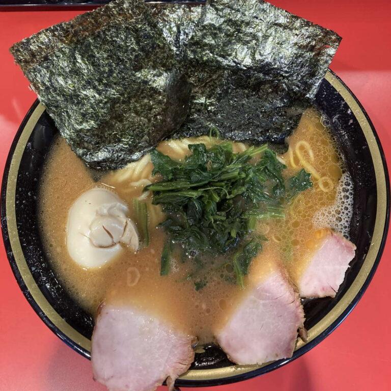 環2家蒲田店チャーシューメン中味玉