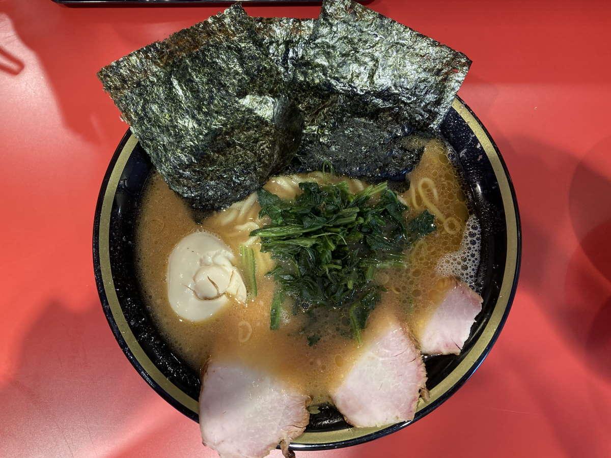 環2家鎌田店チャーシューメン中味玉