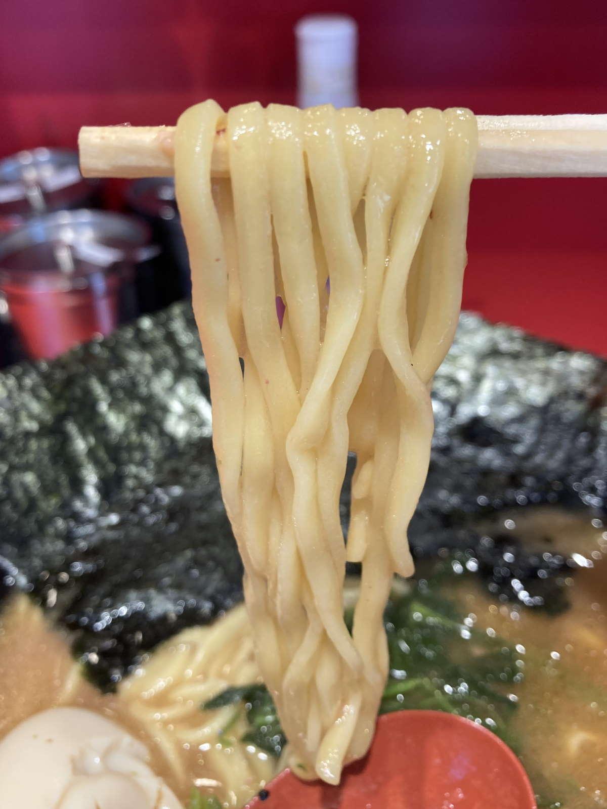 環2家蒲田店麺上げ